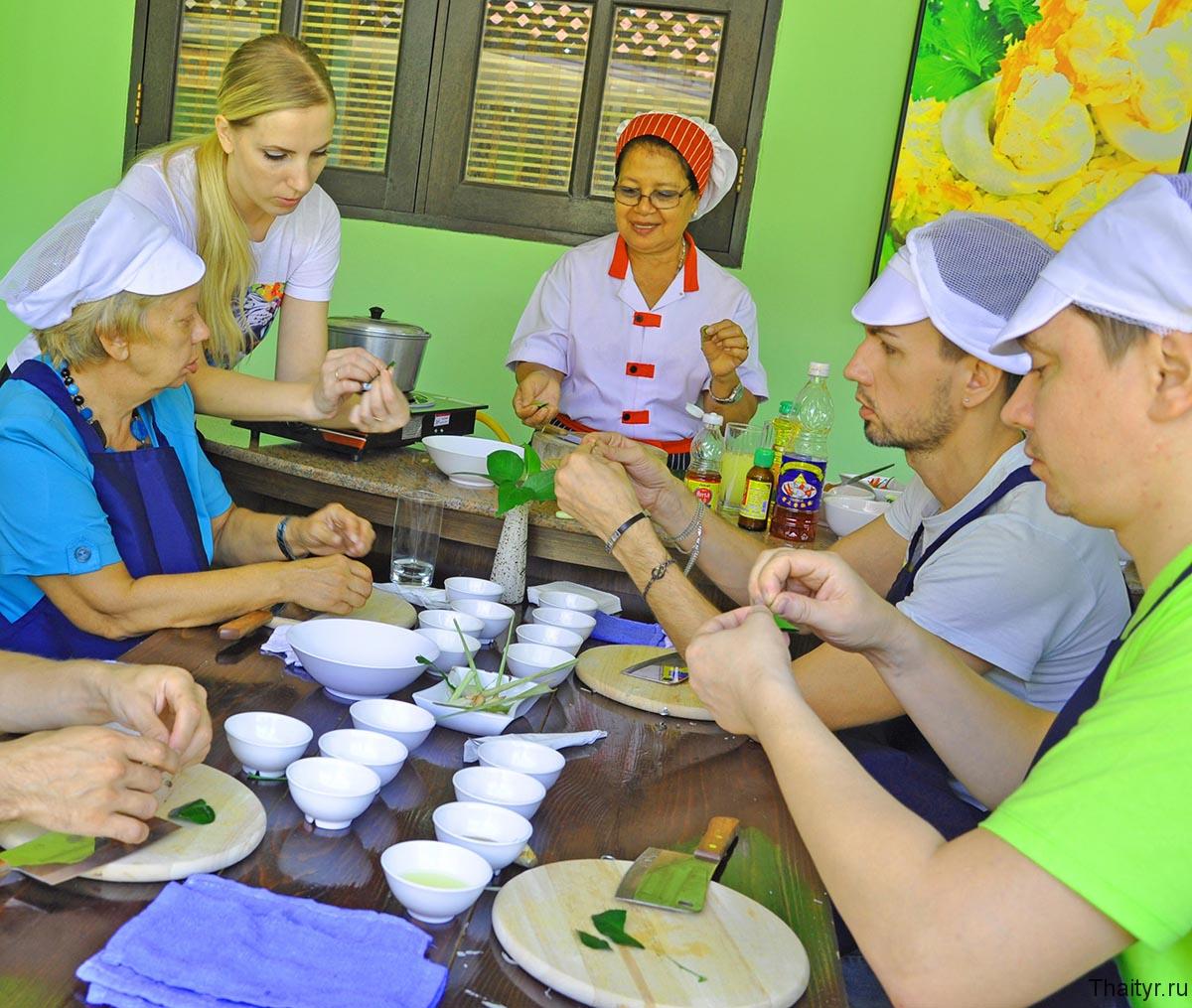 Кулинарные курсы в Паттайе