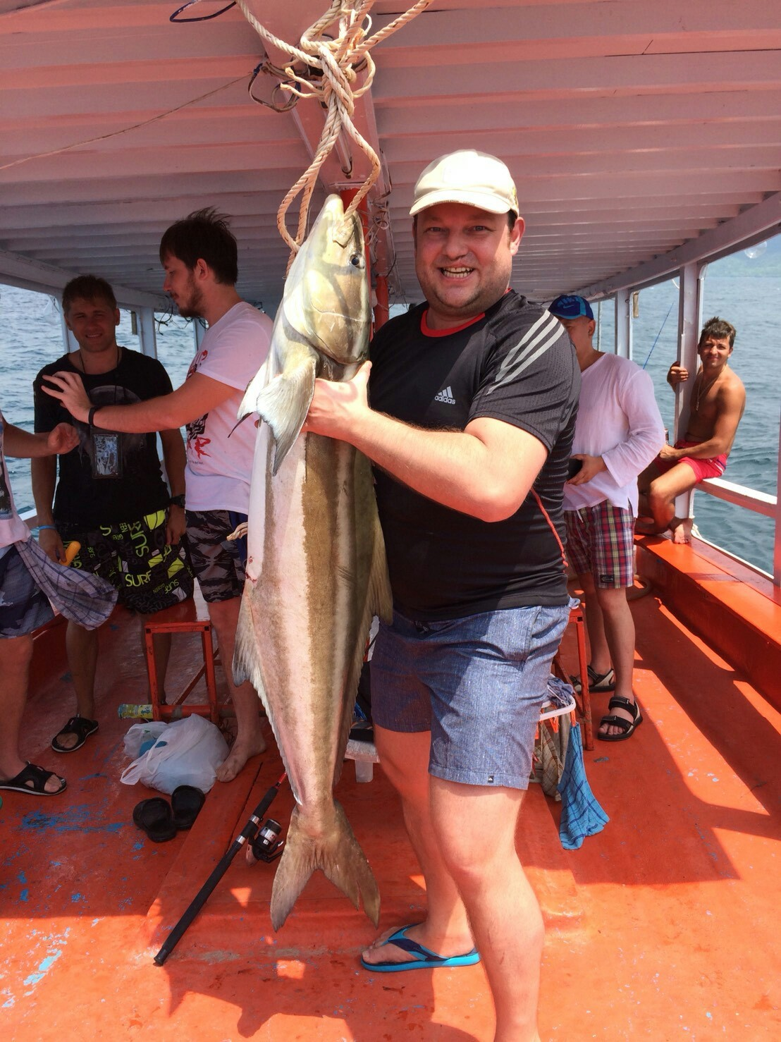 Морская рыбалка в паттайе