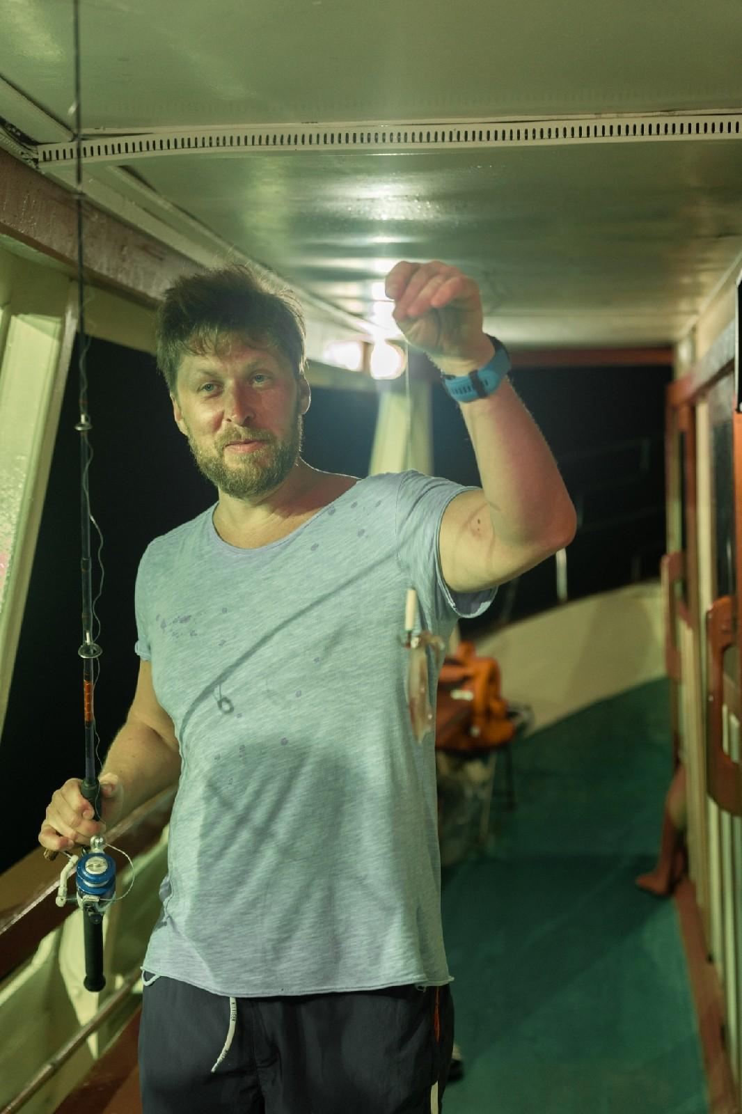Ночная ловля кальмаров в паттайе