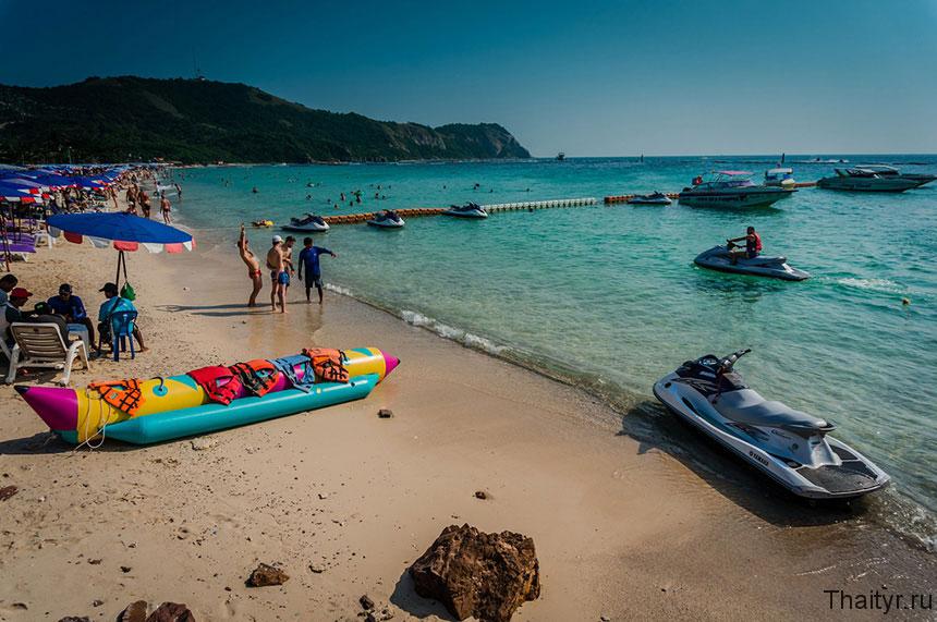 Пляж Самаи на Острове ко лан