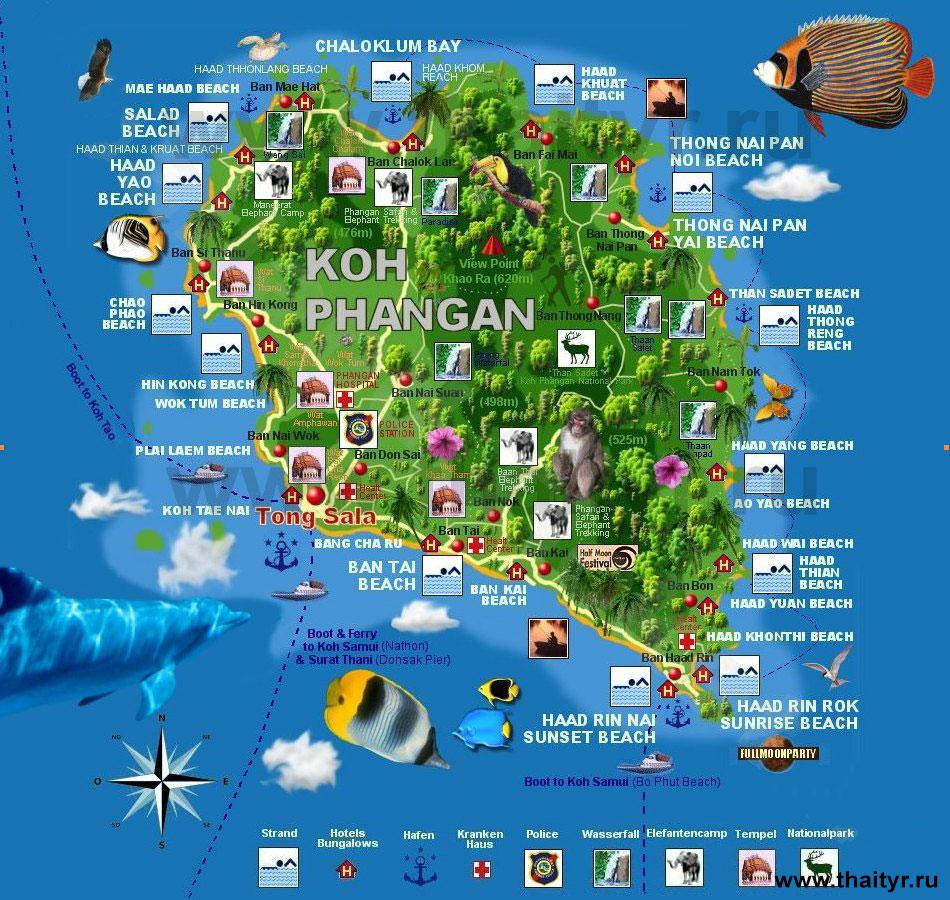 Карта Пангана
